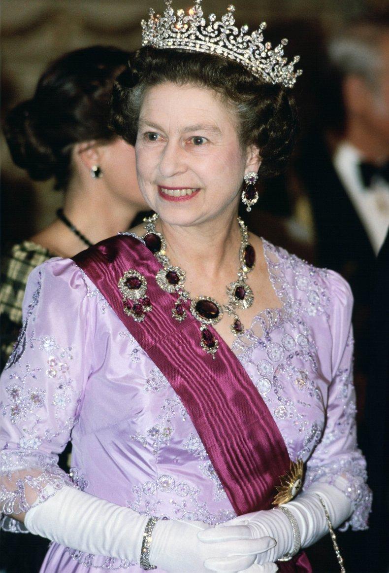 Queen Elizabeth II's Crown Amethyst Jewels