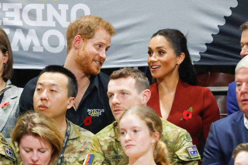 Prince Harry, Meghan Markle at Invictus Games