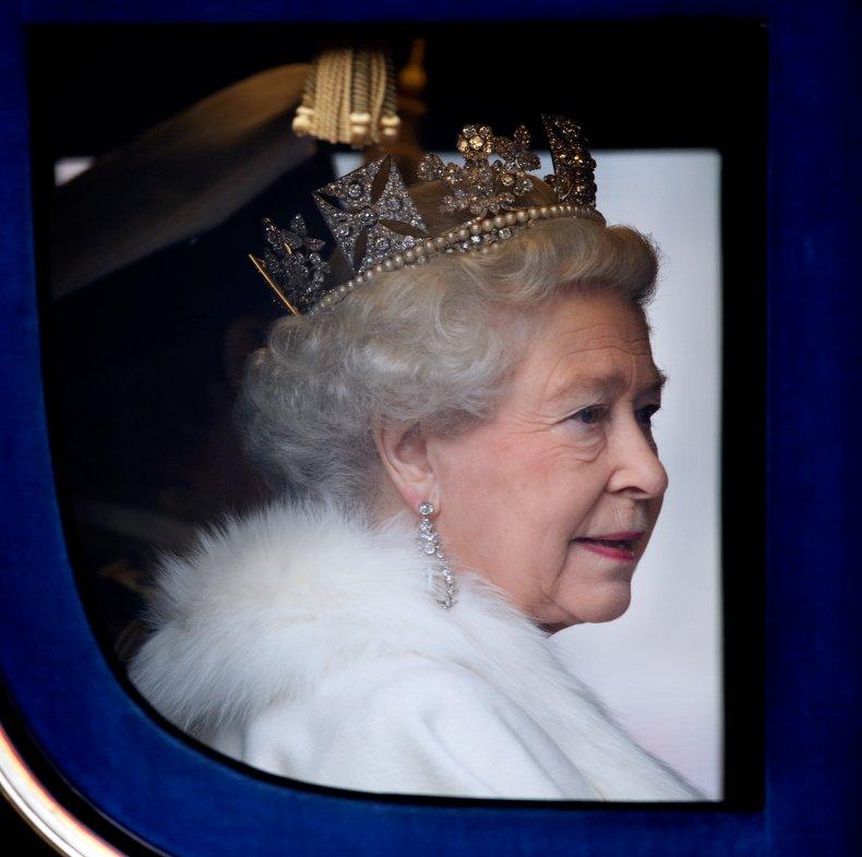 Queen Elizabeth II Diamond Diadem