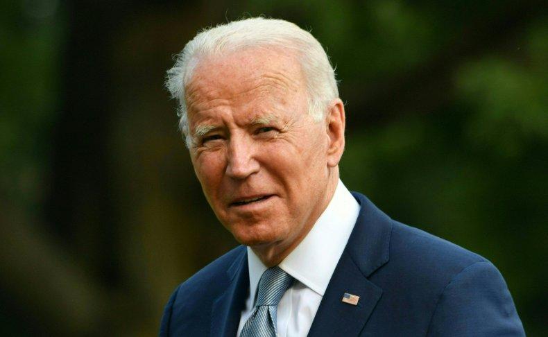 Joe Biden returns from Illinois