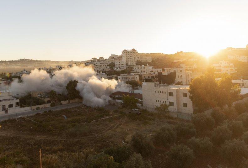 Israeli Forces Demolish Home