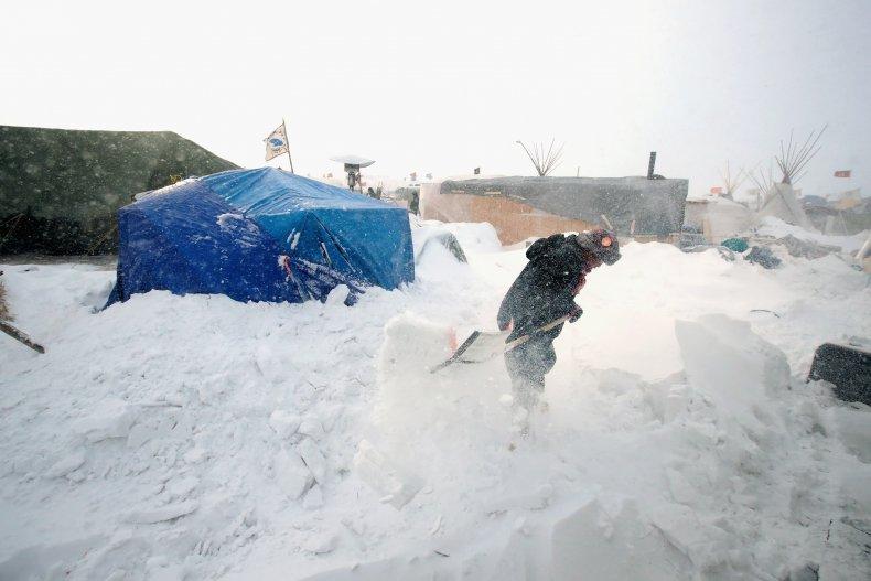 Bismarck North Dakota Snow
