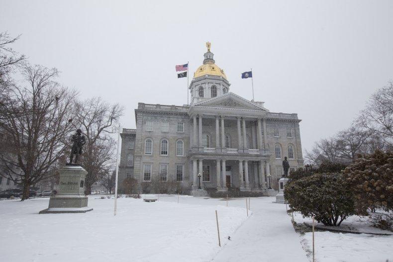 Concord New Hampshire Snow