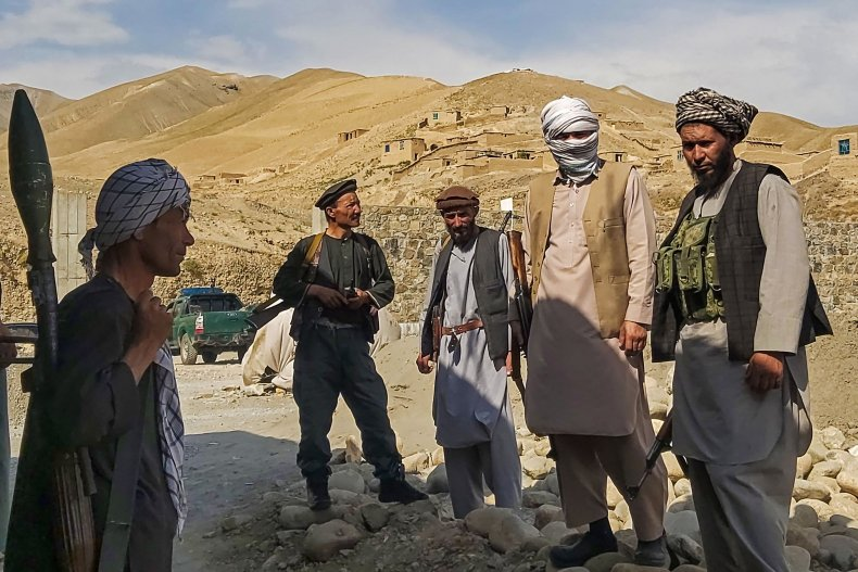 Afghan Forces Guard Against Taliban
