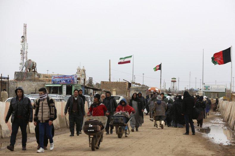 Islam Qala Border in Afghanistan