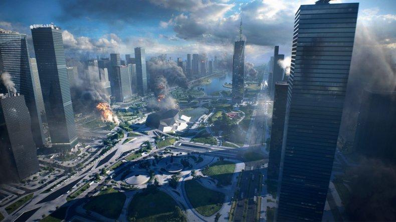 A City Warzone In Battlefield 2042