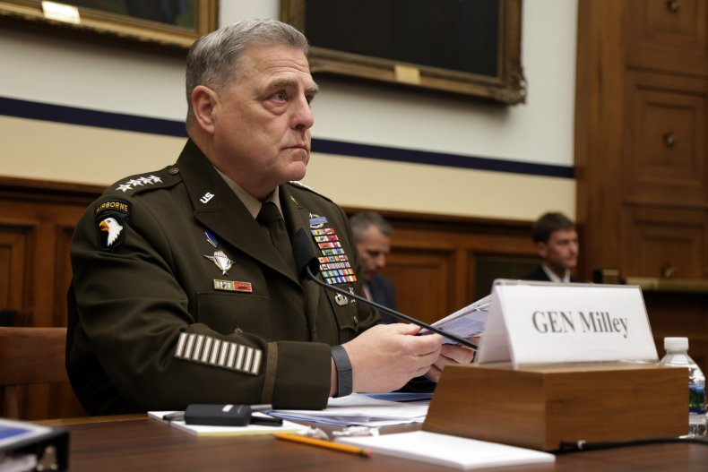 U.S. Chairman of the Joint Chiefs of