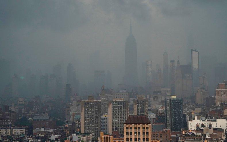 Tropical Storm Elsa New York