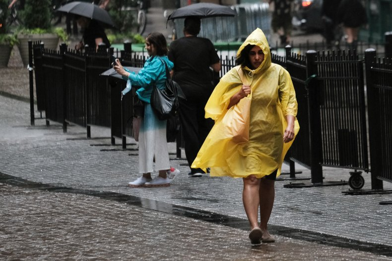 new york flooding tropical storm elsa, getty