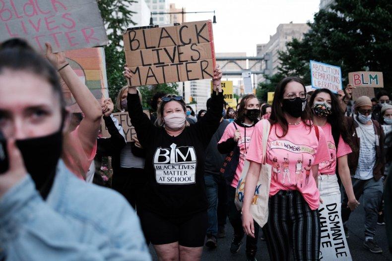 Black Lives Matter protest New York City
