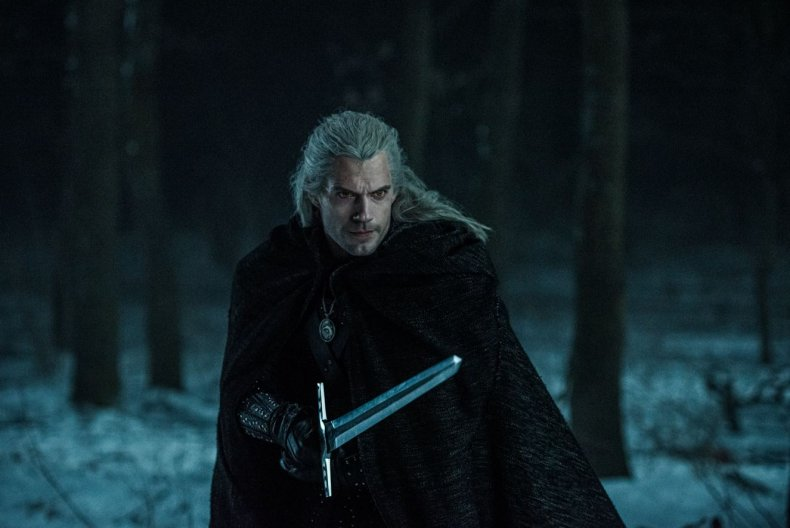 Henry Cavill in 'The Witcher' Season 1