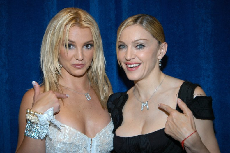 Madonna has long supported Britney Spears