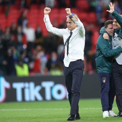 Italy coach Roberto Mancini