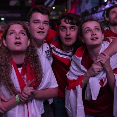 England fans at Euro 2020