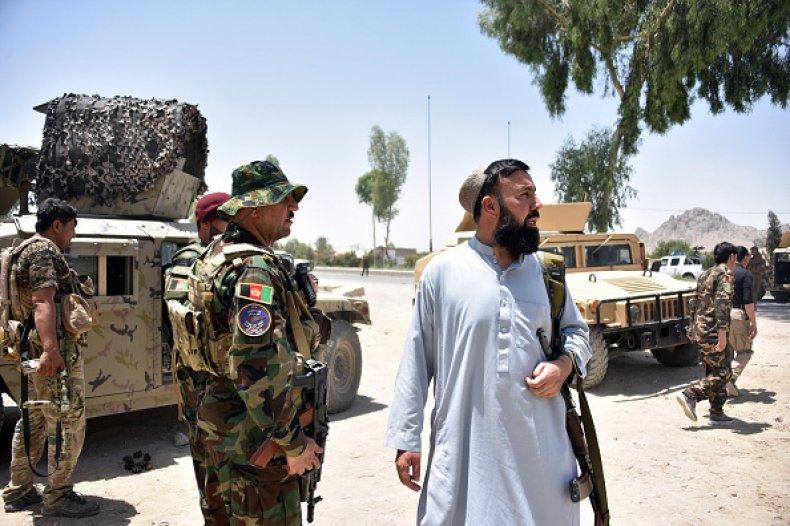 Afghanistan Taliban U.S. Troops