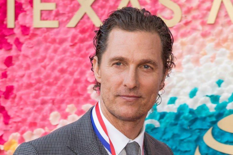 Matthew McConaughey hints at Texas governor run