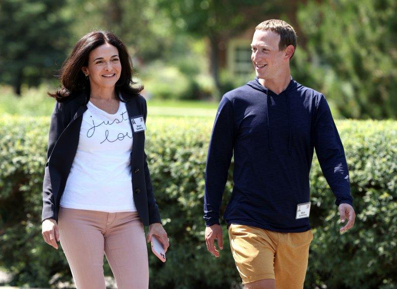 Mark Zuckerberg at Sun Valley.
