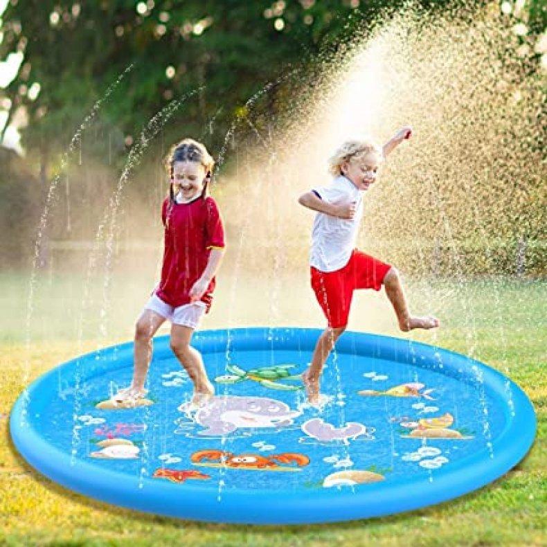 Jozo Outdoor Sprinkler Water Toys