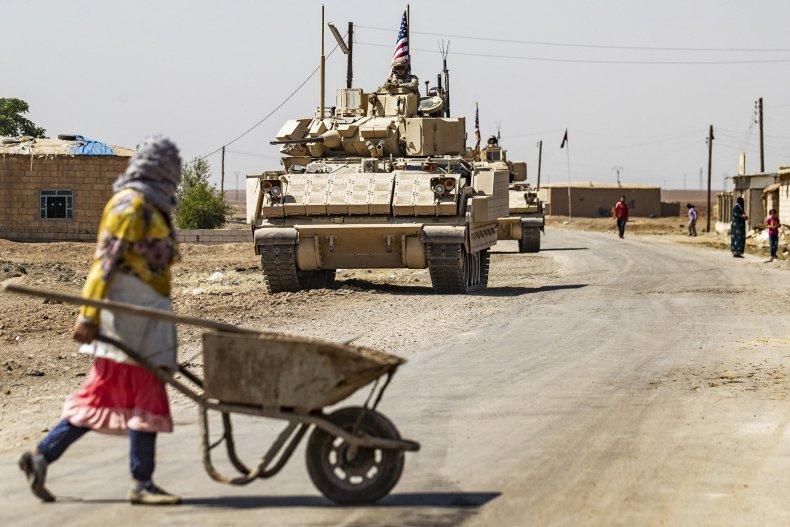 US, forces, patrol, northeastern, Syria