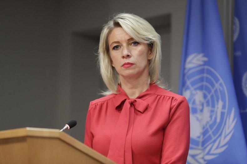 Maria Zakharova, Russian foreign ministry spokesperson