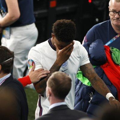 Marcus Rashford at Euro 2020