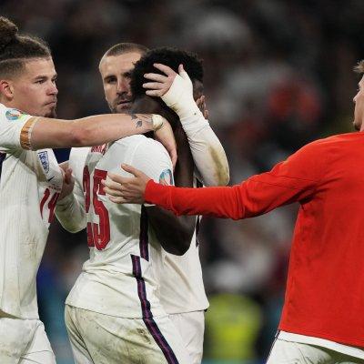 Bukayo Saka at Euro 2020