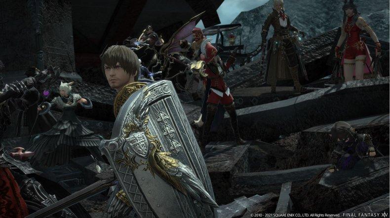Screenshot of Final Fantasy XIV