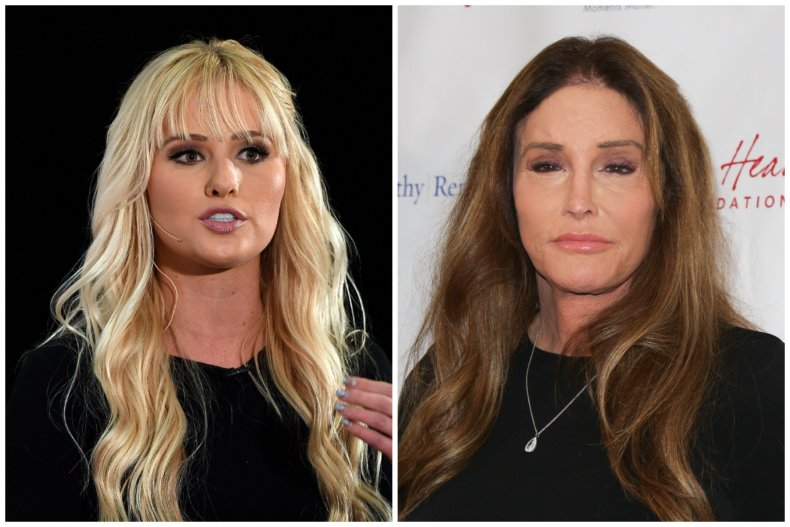 Caitlyn Jenner and Tomi Lahren