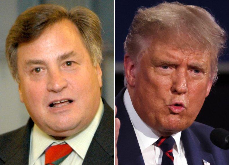 Dick Morris and Donald Trump