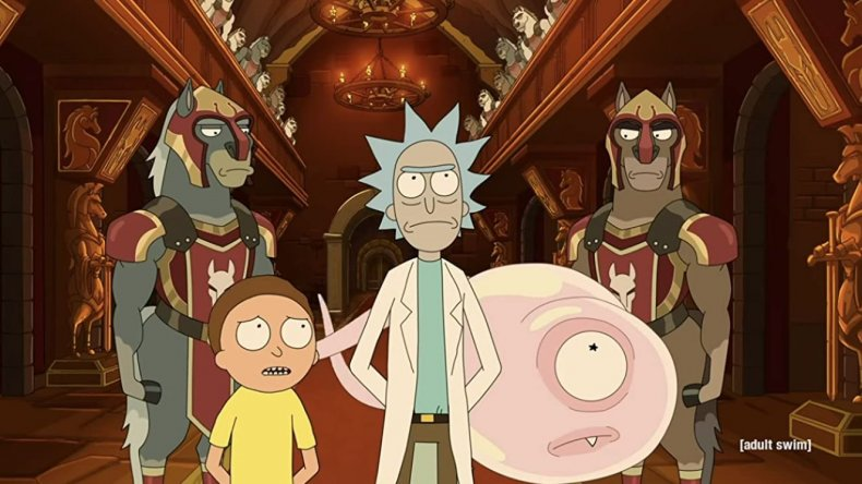 Rick and Morty held captive
