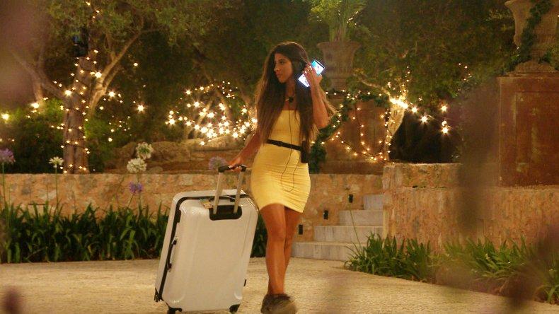 Shannon is dumped on Love Island UK