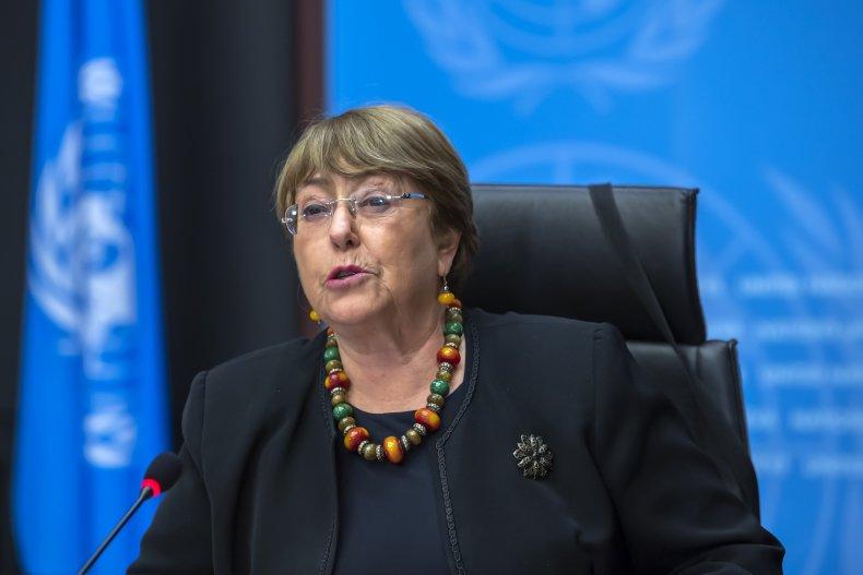 Michelle Bachelet UN Human Rights