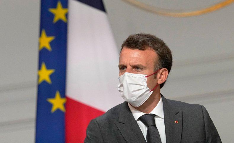 Macron COVID-19 Vaccine