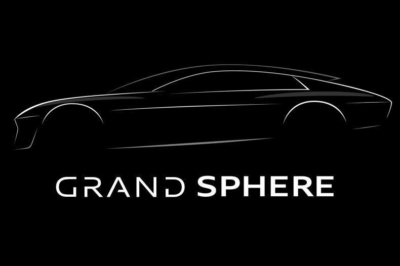 Audi Grand Sphere teaser