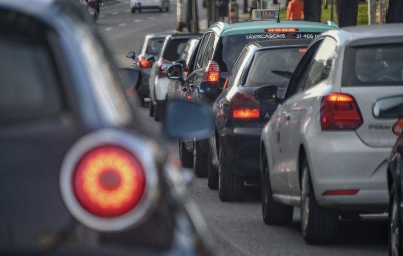Ex-girlfriend runs through 49 red lights