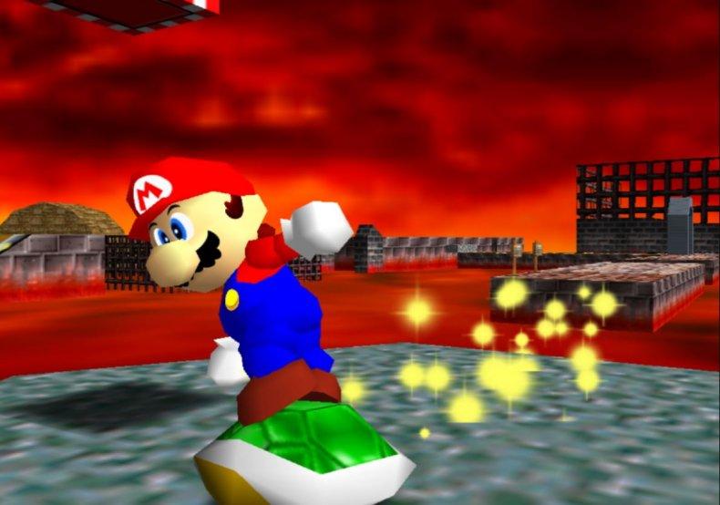 Screenshot of Super Mario 64