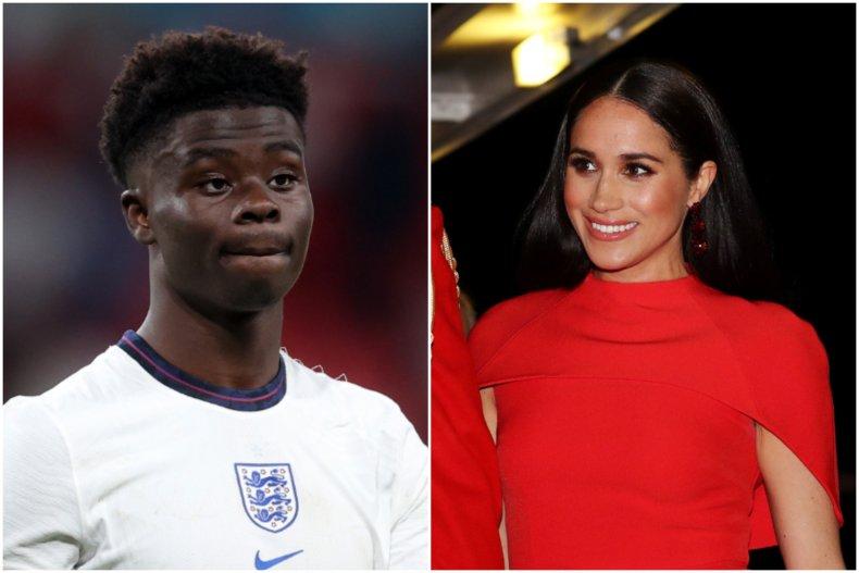 England racism prompts Meghan Markle comparisons