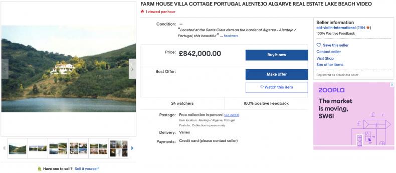 Farmhouse villa cottage in Portugal's Algarve ($1,166,100)