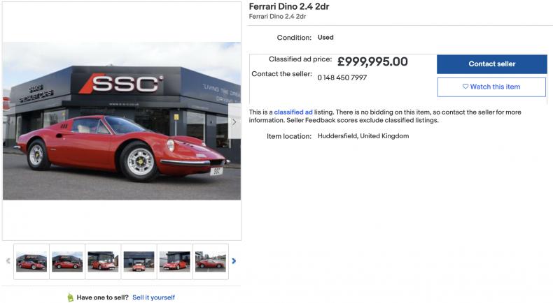 Ferrari Dino 2.4 (1,380,000)