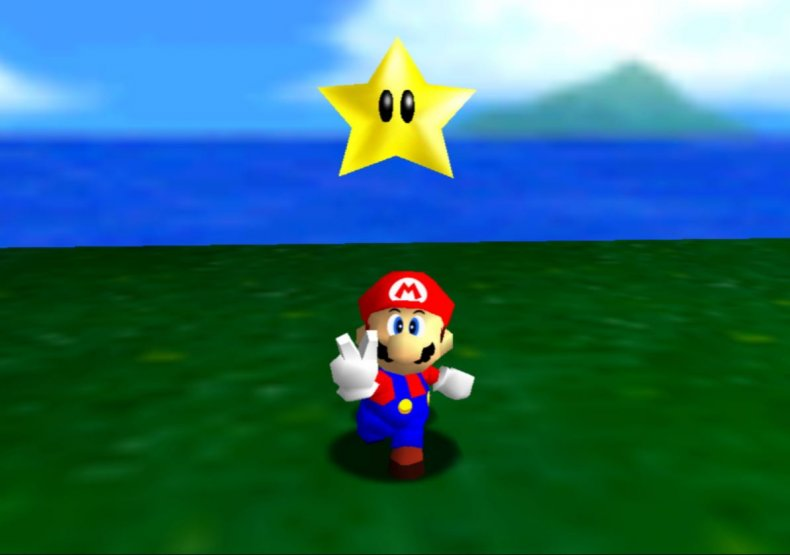 Mario Collects a Star