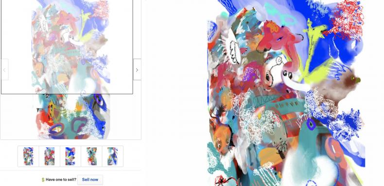 Hooranky Bae Digital & Acrylic Art (7,673,000)
