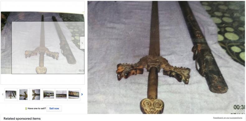 Antique Sword ($10,000,000)
