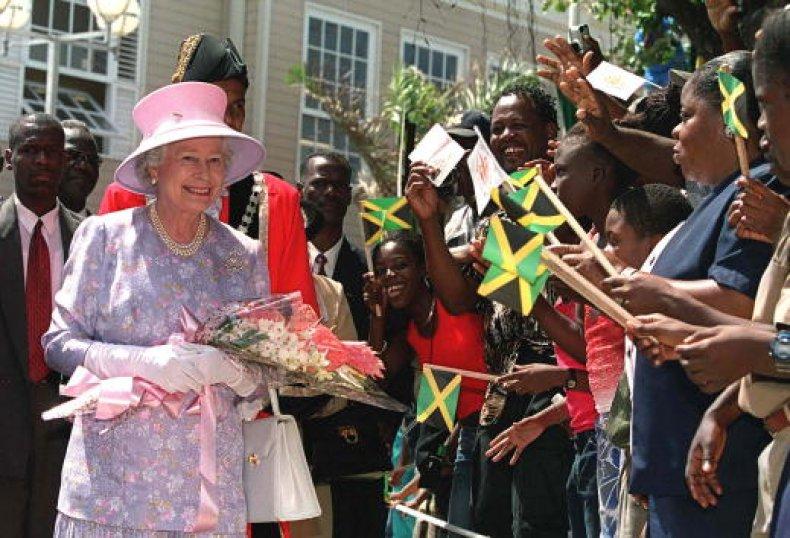 Jamaica Britain Slavery Reparations Queen Elizabeth