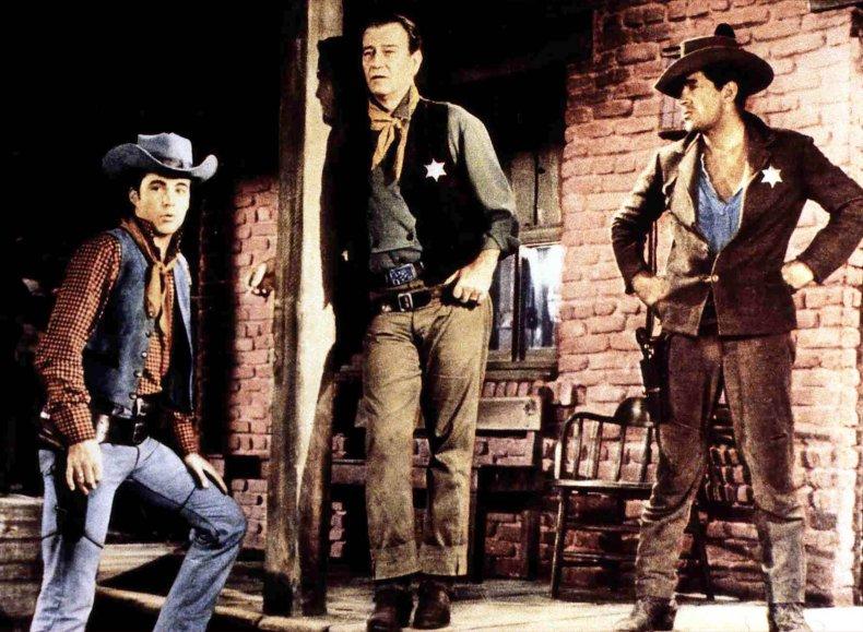 "Scene from ""Rio Bravo"""