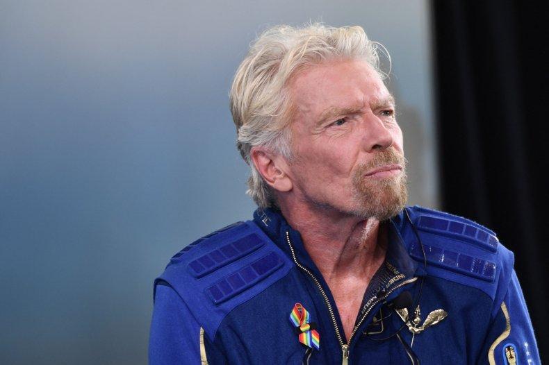 Richard Branson Jeff Bezos Space Tourism Flight