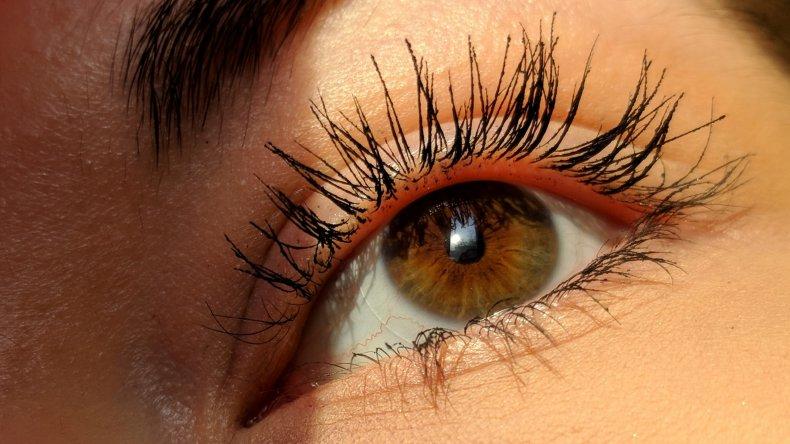 Eyelashes with Mascara