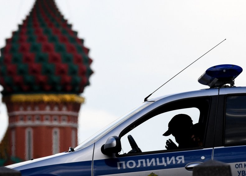 Moscow police officer