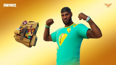LeBron James Taco Tuesday Outfit in Fortnite