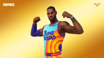 LeBron James Tune Squad Outfit in Fortnite