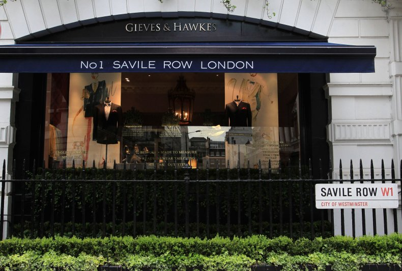 Savile Row in London